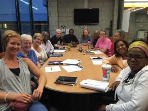 Richmond Pledge Facilitators in a meeting